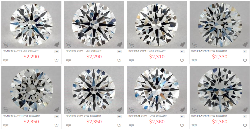 Buying Diamond Engagement Ring Online