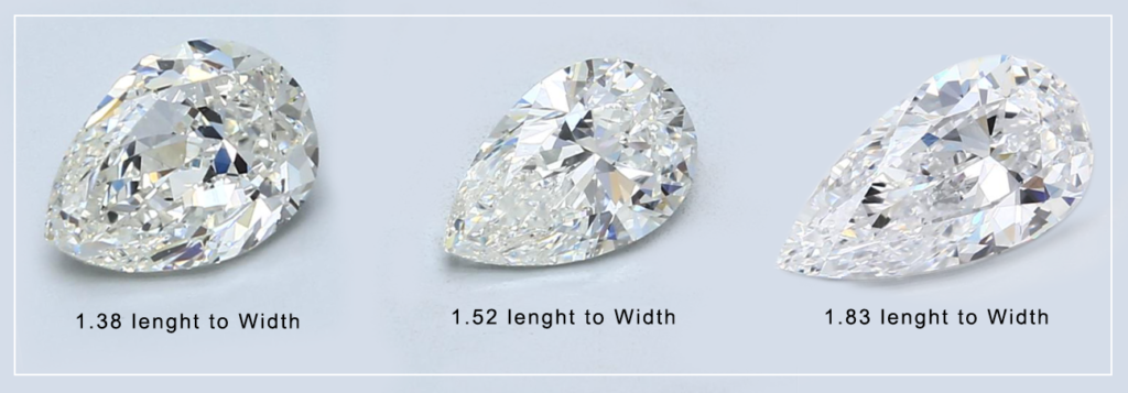 Diamond Shape Pear