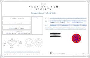 Diamond Quality Certificate