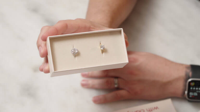 With Clarity Diamond Home Preview Engagement Ring Website Review