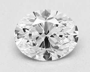 oval diamond shape