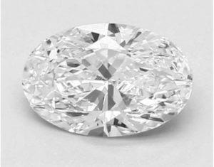 oval diamond shape tips